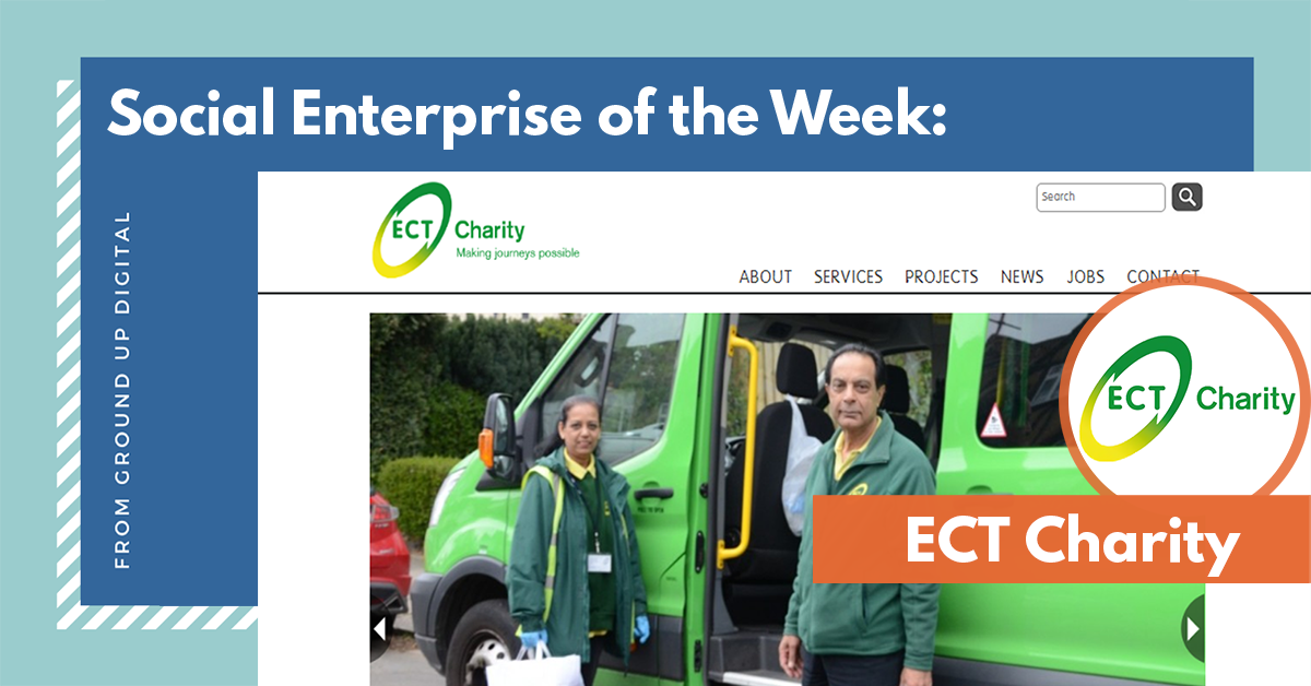 Social Enterprise of the Week - ECT Charity